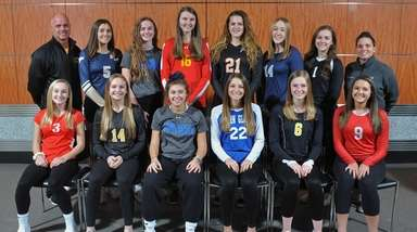 Members of Newsday's 2018 All-Long Island girls volleyball