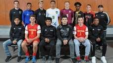 Members of Newsday's 2018 All-Long Island boys soccer