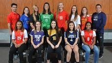 Members of Newsday's 2018 All-Long Island girls soccer