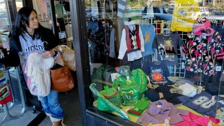 O.K. Kids sells children's clothes and is located