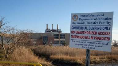 The Oceanside landfill site that the Town of