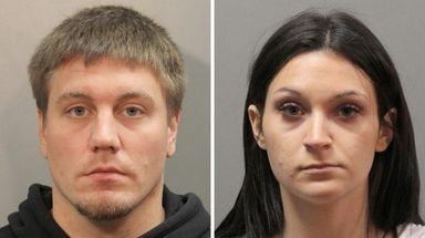 Ralph Keppler, left, the boyfriend of the victim's