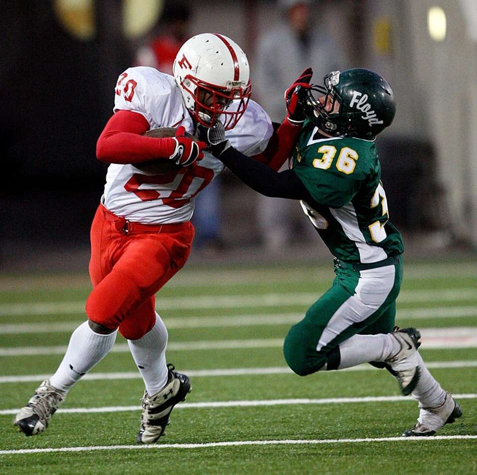 Kevin Allen (pictured, left) totaled 403 all-purpose yards,