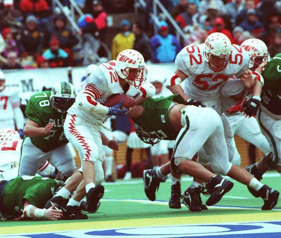 1992 -- CONNETQUOT 27, FARMINGDALE 0Driven by the