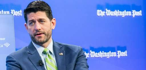 House Speaker Paul Ryan, R-Wis., is interviewed Nov.