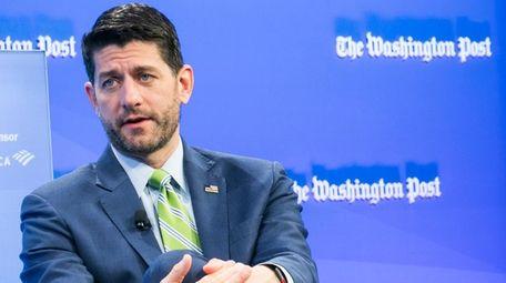 House Speaker Paul Ryan, R-Wis., is interviewed Nov.
