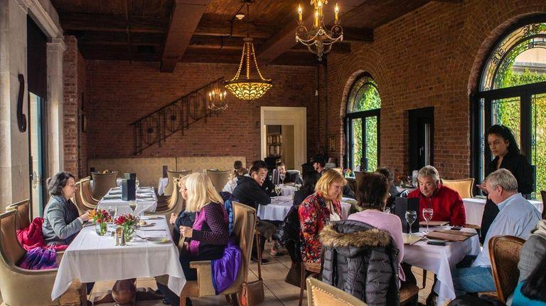 The dining room at OHK Restaurant & Bar.