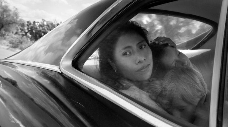 "Yalitza Aparicio stars in Alfonso Cuarón's ""Roma,"" which"