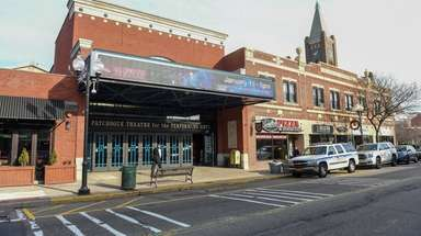 The Patchogue Theatre for the Performing Arts on