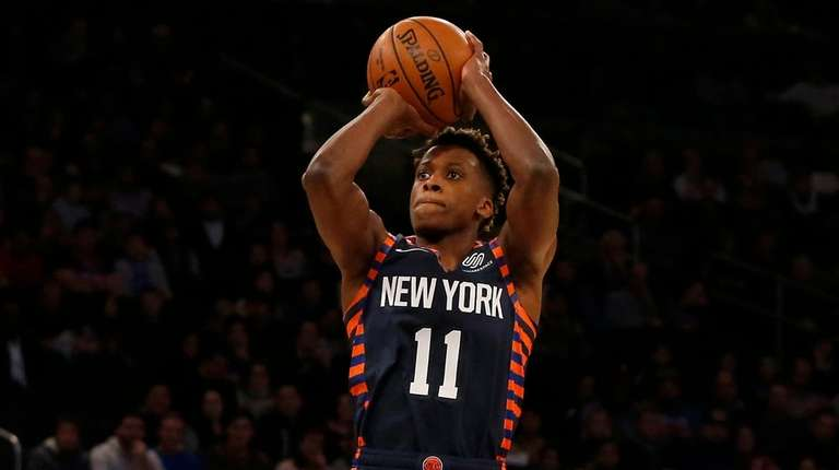 Frank Ntilikina s breakout game may lead to more playing time  2ef661a35524