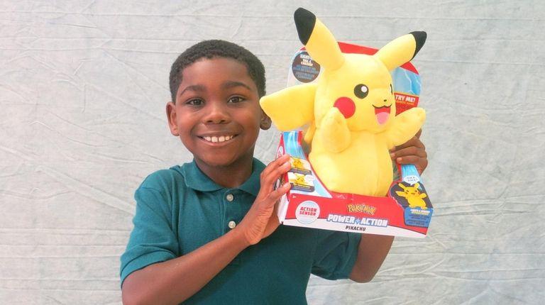 9afe01c0d3331 Kidsday reporter Caiden Jean-Baptiste tested the Pokémon Power