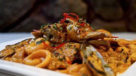 Pescado a lo Macho, a fillet of fish