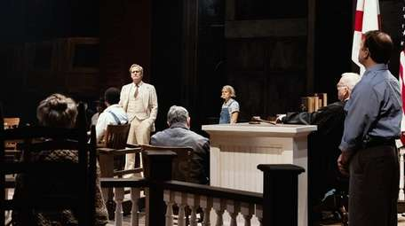 Jeff Daniels plays Atticus Finch in the Broadway