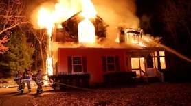 Suffolk police are investigating a fatal house fire