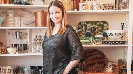 Elizabeth Plotz, owner of South Shore Vintage in