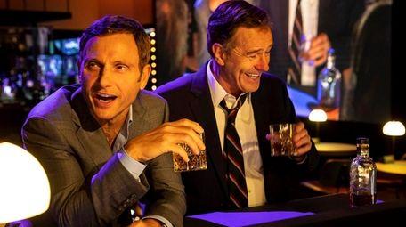 "Tony Goldwyn and Bryan Cranston star in ""Network"""
