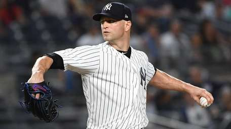 J.A. Happ was 7-0 for the Yankees after