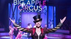 Ringmaster Stephanie Monseu of the Big Apple Circus,