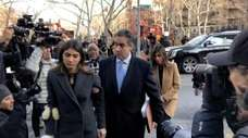 President Donald Trump's former lawyer Michael Cohen was