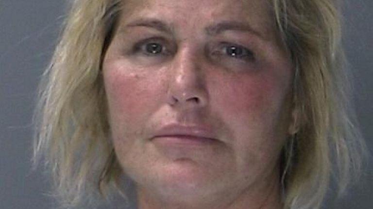 Deborah Amato, 60, of Northport, was caught on