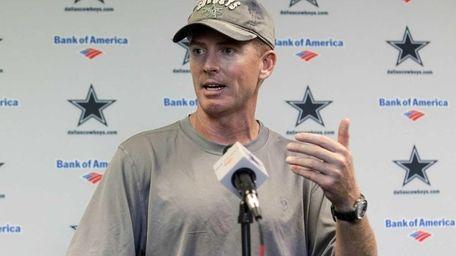Dallas Cowboys interim head coach Jason Garrett responds