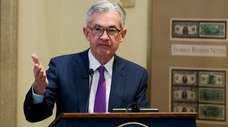 Federal Reserve Chairman Jerome Powell will address the