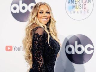 Mariah Carey at the 2018 American Music