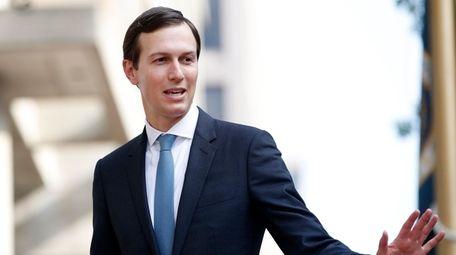 White House adviser Jared Kushner seen on Aug.
