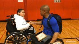 Wrestler and internationally recognized powerlifter Rohan Murphy, a