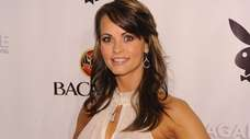 Karen McDougal in February 2010 in Miami Beach.