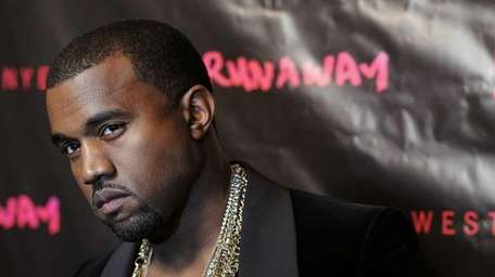Rapper, writer and director Kanye West attends the