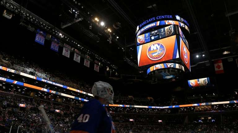 The Islanders and Golden Knights await the start