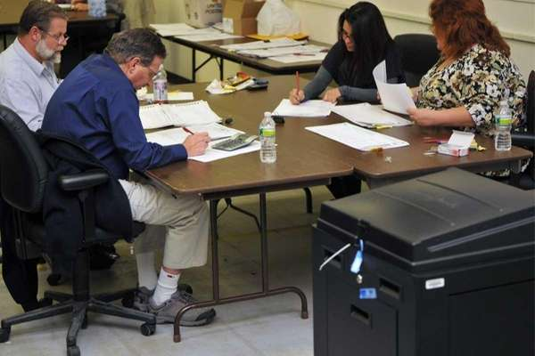 An audit of the county votes continues into