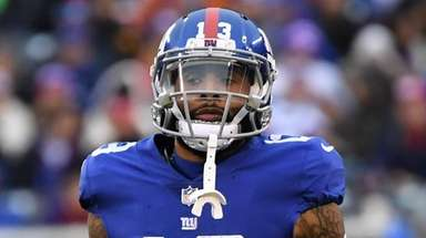 Giants wide receiver Odell Beckham Jr. in the