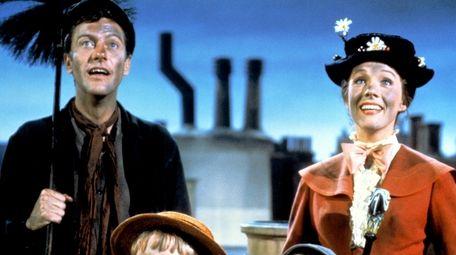 DIck Van Dyke is Bert the chimney sweep