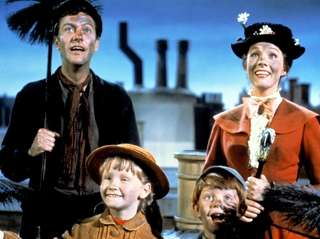 DIck Van Dyke is Bert the chimney sweep