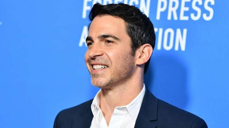 Chris Messina at a Hollywood Foreign Press Association