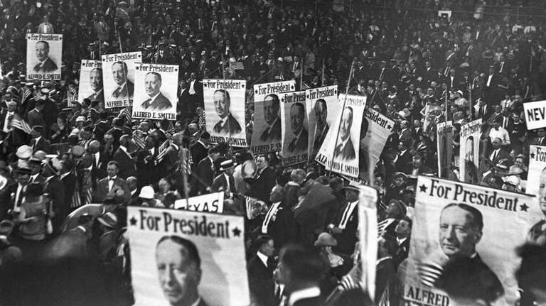 Delegates at the Democratic National Convention at Madison