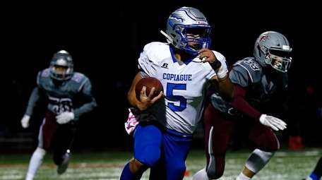 Copiague's Victor Gamarra has had little luck recruiting