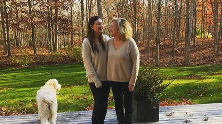 Emily German and her mother, Linda Larsen German.