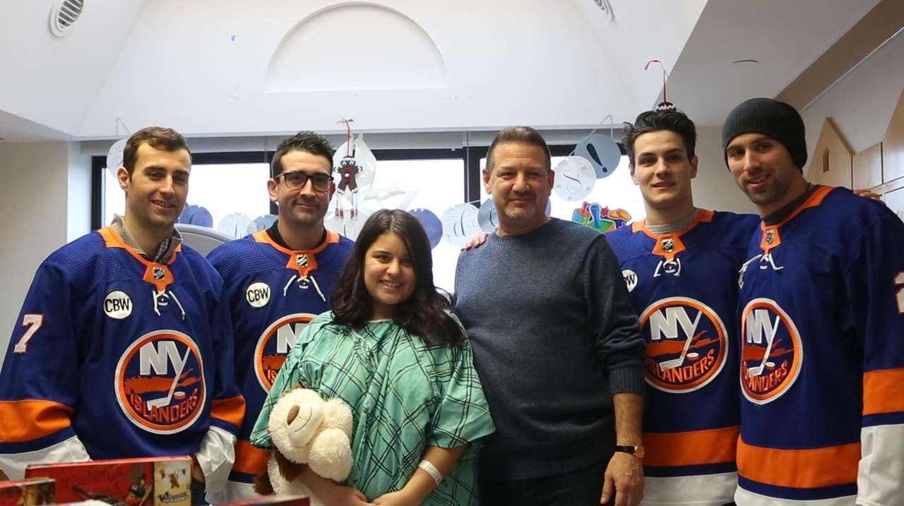 The Islanders took some time off the ice