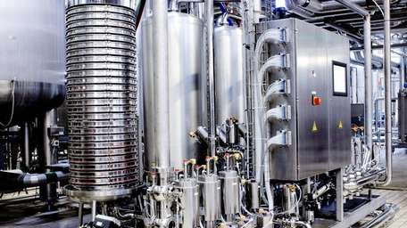 Pall brew system