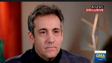 President Donald Trump's former attorney Michael Cohen is