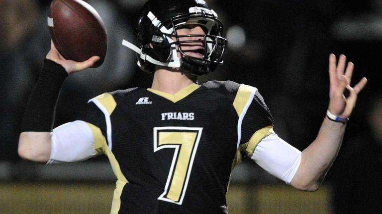 St. Anthony's High School quarterback #7 Charlie Raffa