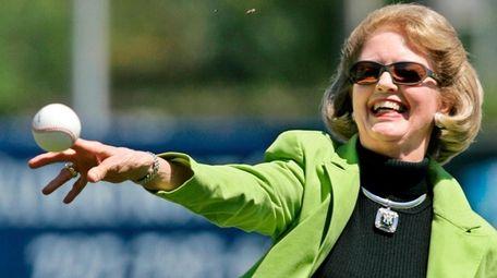 Joan Steinbrenner, wife of Yankees owner George Steinbrenner,