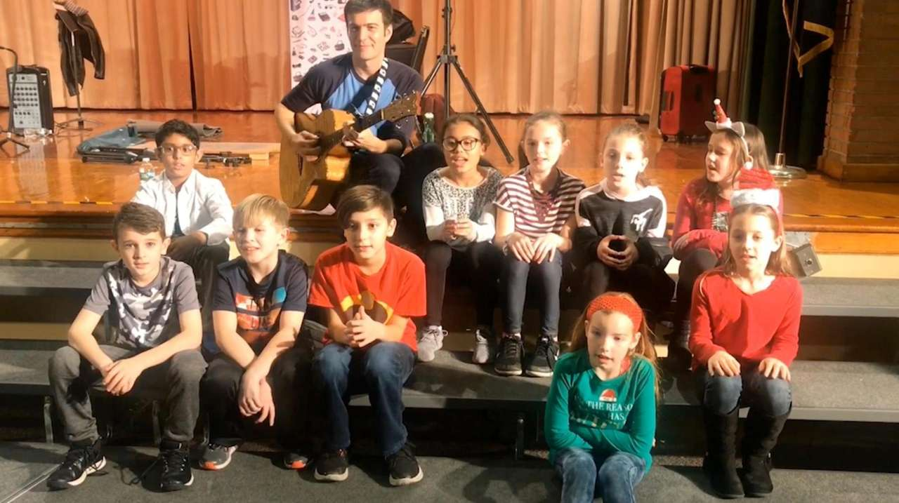On Friday, children's musician Tim Kubart met with