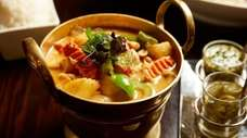 Massaman curry with chicken at the now-closed Tum