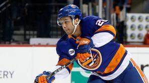 Joshua Ho-Sang #26 of the New York Islanders