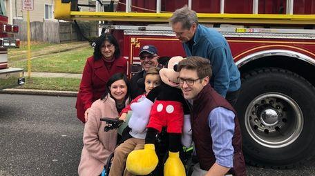 Bear Bonner, center, is going to Disney World