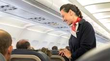 Flight attendants are usually exempt from overtime under